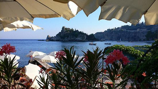 summer in sicily, isola bella, lido