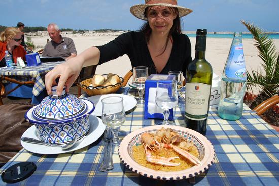 summer in sicily, couscous con pesce, san vito lo capo