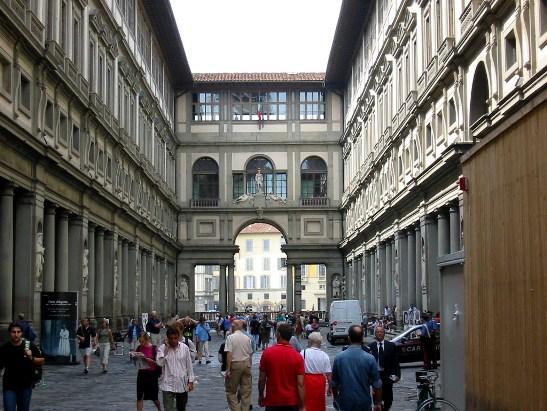 August in Florenz