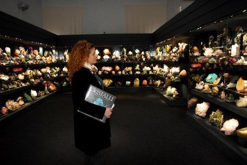 Eine Kristall-Ausstellung