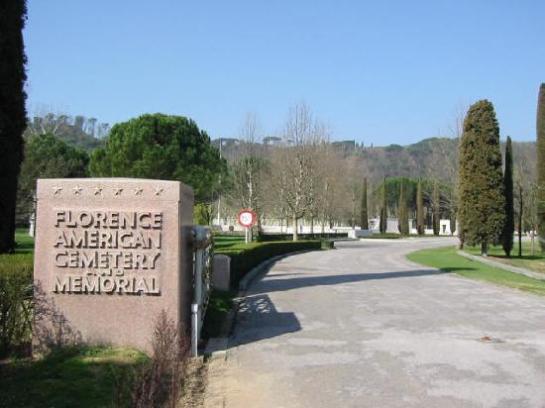 Der amerikanischer Soldatenfriedhof bei Florenz