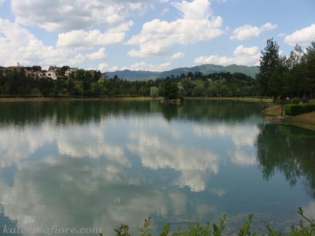 Vicchio - lago artificiale