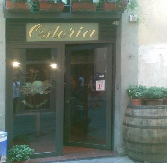 Where to eat in Florence: Osteria vini e vecchi sapori