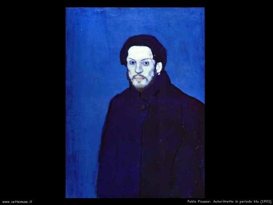 Self-portrait of Pablo Picasso - Pisa Exhibit 2011-2012