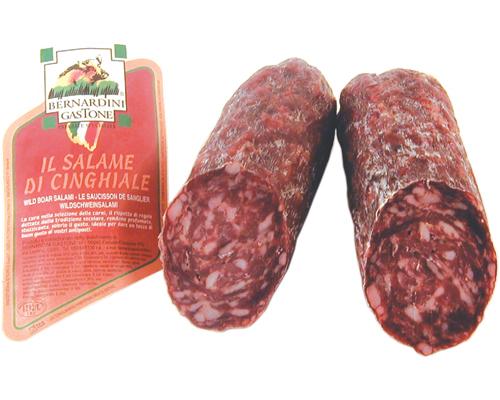 Piatti della Cucina Toscana - Salame di Cinghiale