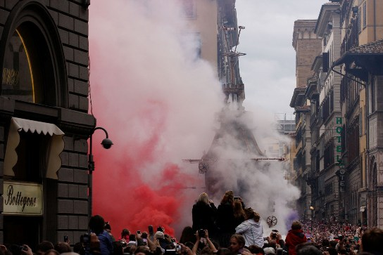 Scoppio del Carro - Ancient Easter Tradition in Florence