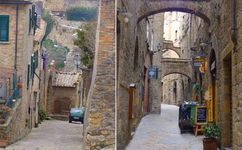 Street view - Volterra