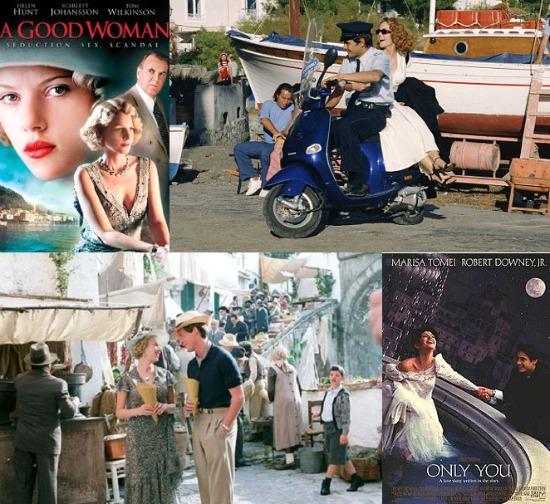Set cinematografici sulla Costiera Amalfitana