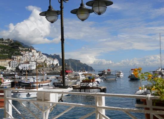 Vista sul porto, Amalfi