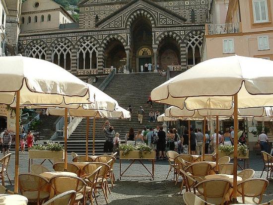 Café ad Amalfi