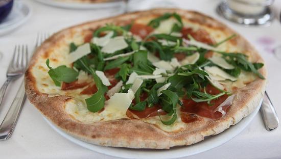 Pizza napoletana ad Amalfi