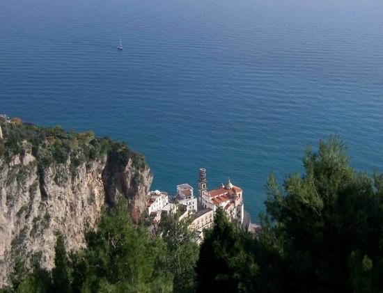 Terrazza dell'Infinito im Park der Villa Cimbrone in Ravello