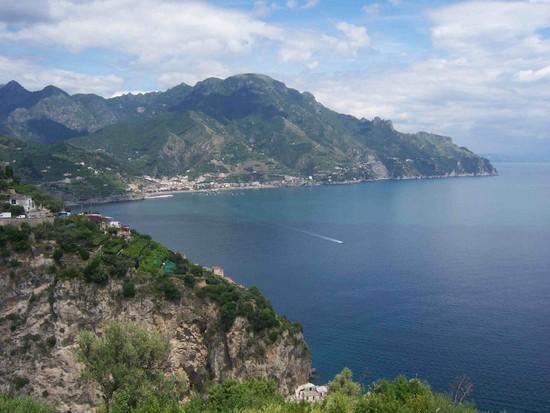 Landschaft der Amalfiküste