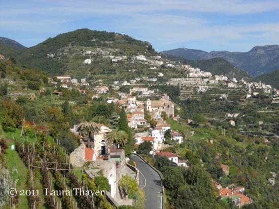 Scala: costiera amalfitana - Campania (veduta)