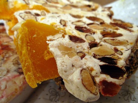 Christmas Dessert Campania Torrone Italy