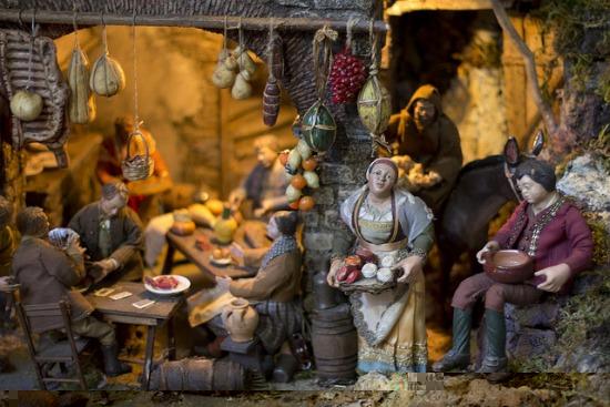 Neapolitan Presepe Nativity Naples