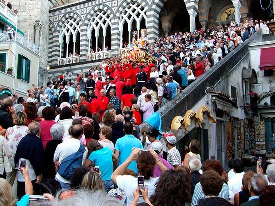 Festa di S. Andrea, Amalfi