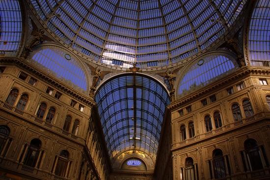 La Galleria Umberto I a Napoli