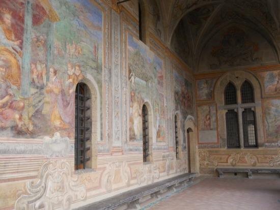 Naples Things To Do Santa Chiara Cloister Fresco