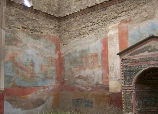 Pictures of Pompeii frescoes
