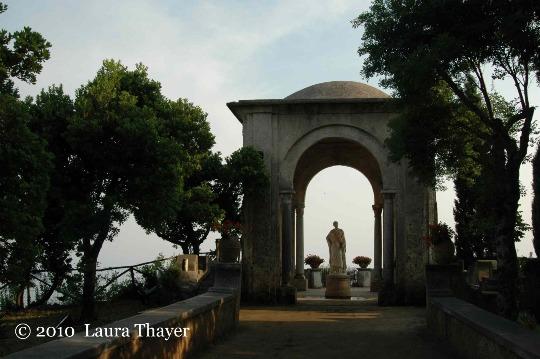 Villa cimbrone ravello splendidi panorami sulla costiera amalfitana - I giardini di bacco ...