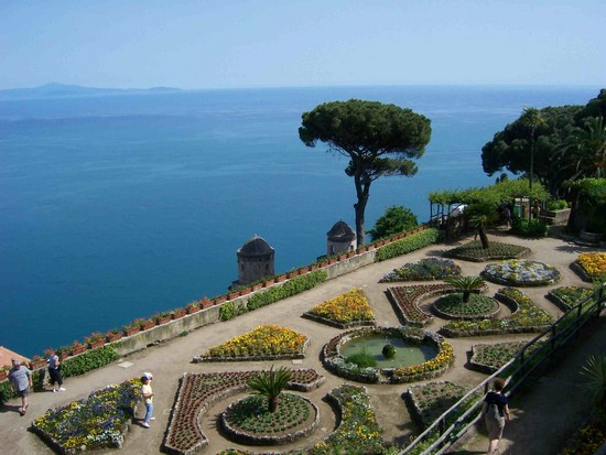 Villa rufolo ravello giardini e panorami meravigliosi - Giardini di villa cimbrone ...