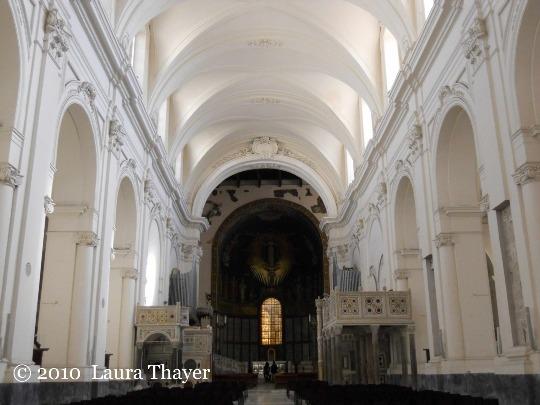 I sobrio stile Barocco della Cattedrale