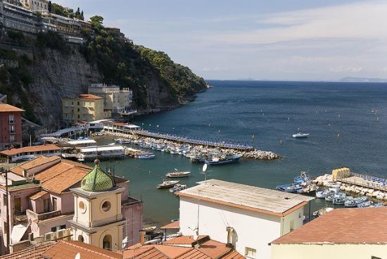 Porto di Marina Grande  a Sorrento