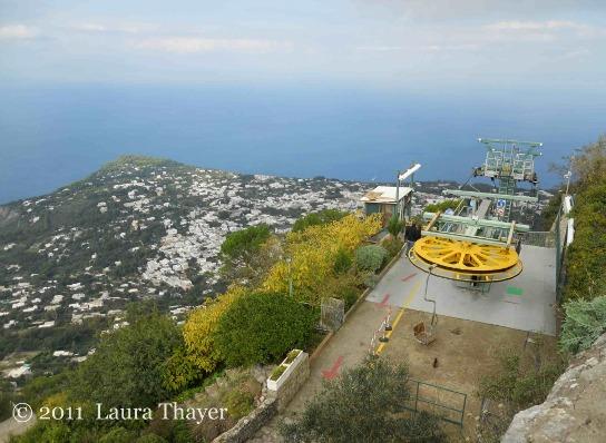 Isola di Capri (seggiovia)
