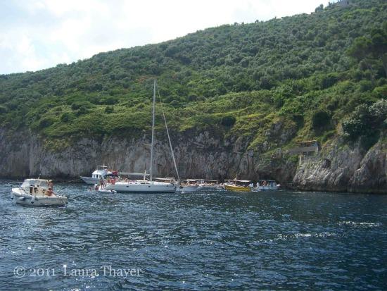 Capri, Campania - un giro in barca
