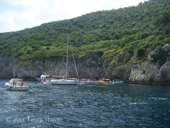 Capri, Kampanien - Bootsfahrt