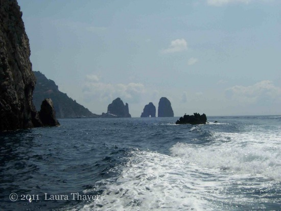 Capri, Kampanien - Felsen