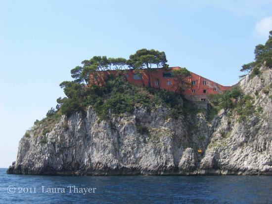 Capri, Kampanien - Casa Malaparte
