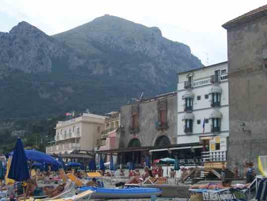 Nerano: Marina del Cantone