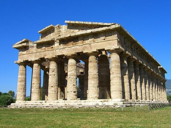 Die altgriechischen Tempel zu Paestum