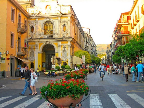 Shopping in Sorrento Italy Piazza Tasso