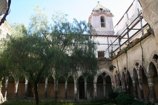 Sorrento - Chiostro della chiesa S.Francesco