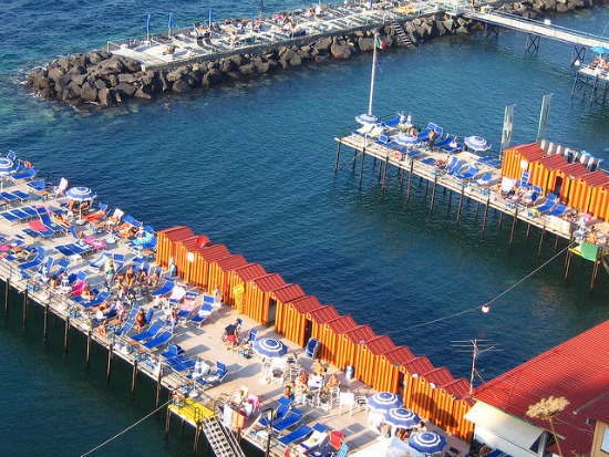 Summer in Sorrento on the Beach