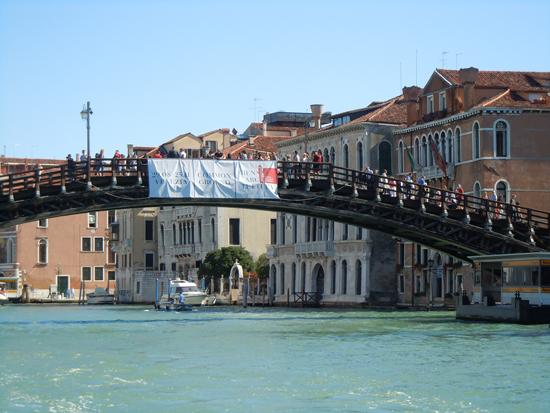 Accademia Bridge, Photo credit: Leslie Rosa