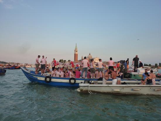 Il Redentore festival in Venice, Italy