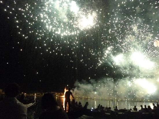 Festa del Redentore Fireworks Over St. Mark