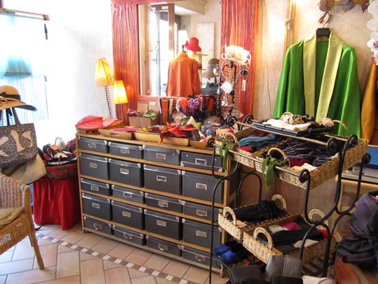 Sereba Vianello's elegant shop in San Polo, Photo credit: Leslie Rosa