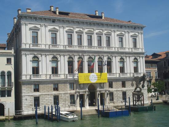Palazzo Grassi, Photo credit: Leslie Rosa