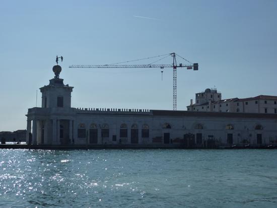 Punta della Dogana, a major space for contemporary art in Venice, Photo credit: Leslie Rosa