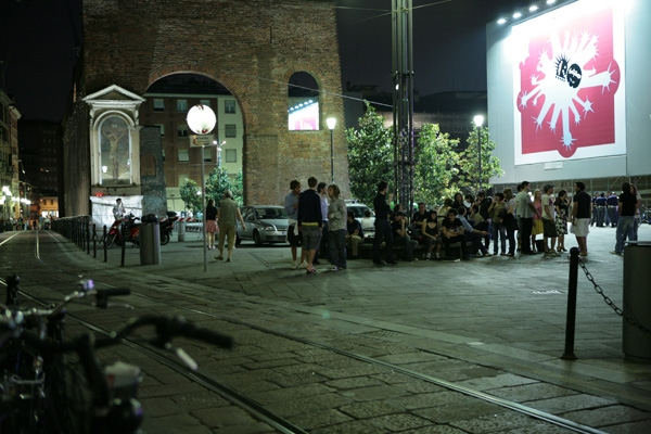Nightlife in Milan, Italy