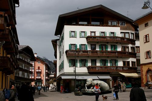 Summer Ski destinations in Northern Italy: Cortina