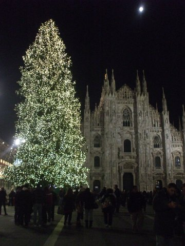 Christmas Holiday in Milan, Italy