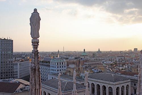 Top 10 di Milano per ragazzi e ragazze- Sul tetto del Duomo