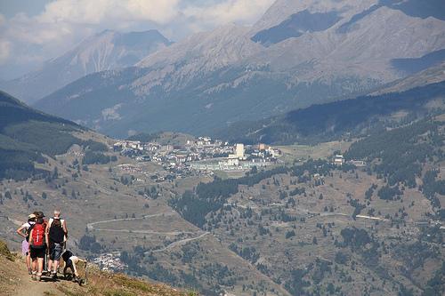 Summer Ski destinations in Northern Italy: Sestriere