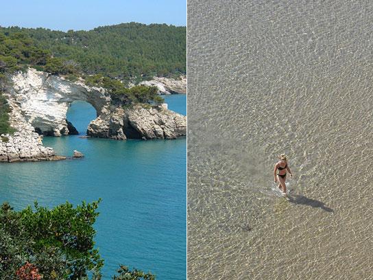 Vieste, ein ideales Reiseziel im Sommer